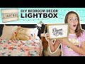 How To Make DIY Light Box  | Room Decor Ideas For Teens