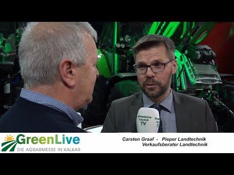 Greenlive Kalkar 2017 - Standbesuch bei Landtechnik Pieper