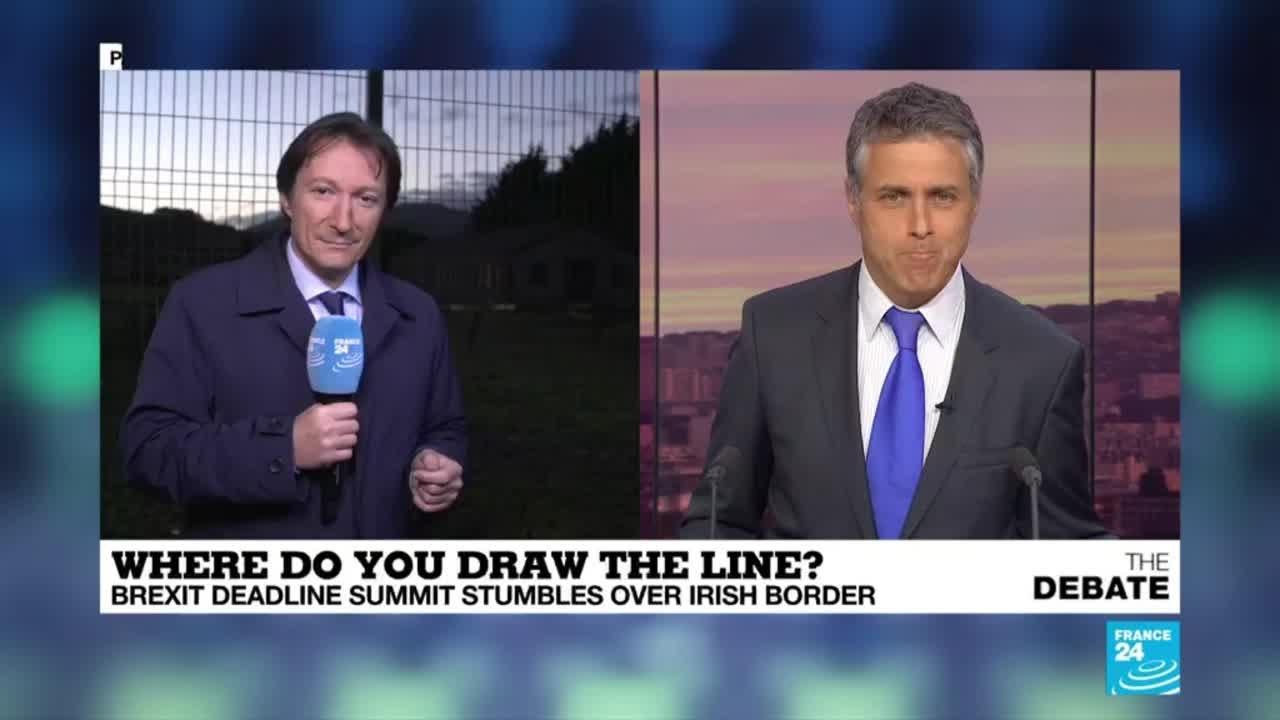 فرانس 24:Brexit: Where do you draw the line on the Irish border?
