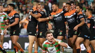 NRL Highlights: Wests Tigers v South Sydney Rabbitohs – Round 19