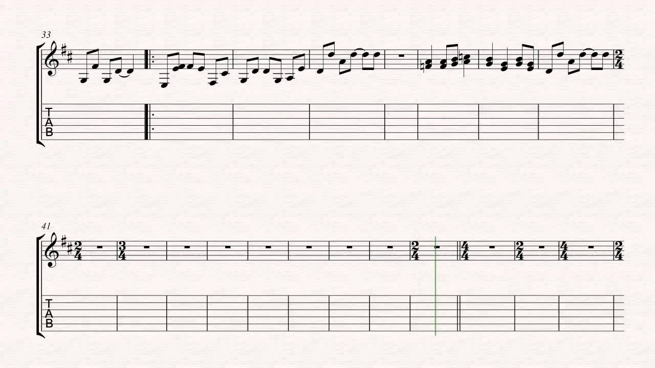 Guitar one metallica sheet music chords vocals youtube guitar one metallica sheet music chords vocals hexwebz Image collections