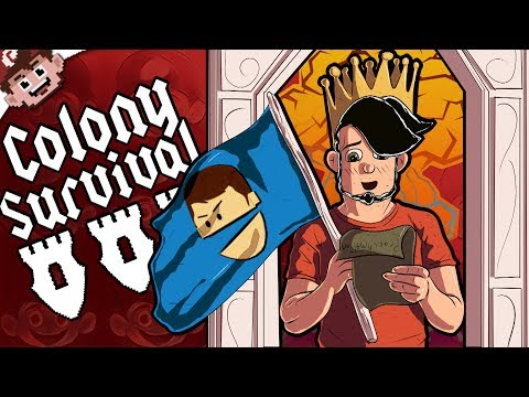 KINGS of the LAND! | Chilled and Ze's NEW Adventure! (COLONY SURVIVAL - Part 1)