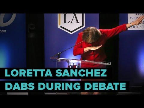 Loretta Sanchez Just Dabbed During A Debate