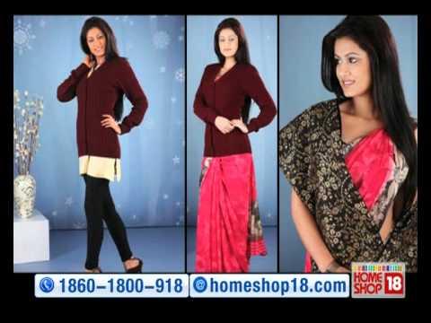 HomeShop18 , Pack of Ladies Cardigan + Shawl by Aanya