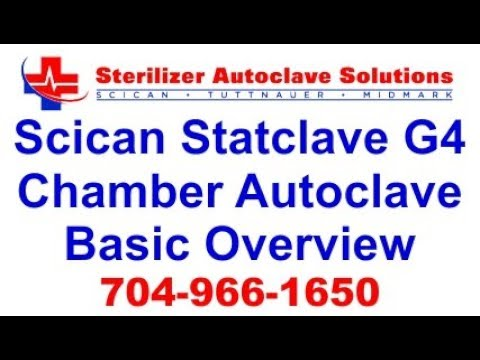Scican Statclave g4 Chamber Autoclave is Here!