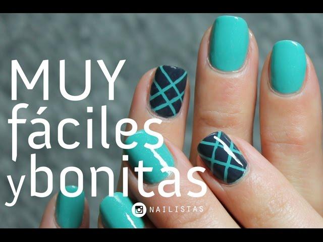 5 diseños de uñas FÁCILES y BONITOS paso a paso - Paperblog