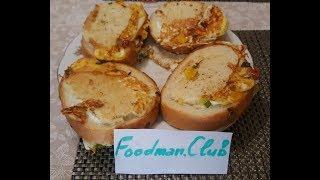 Бутерброды с яйцом: рецепт от Foodman.club