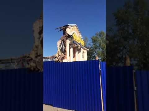 Кинотеатр Октябрь в Улан-Удэ снесли