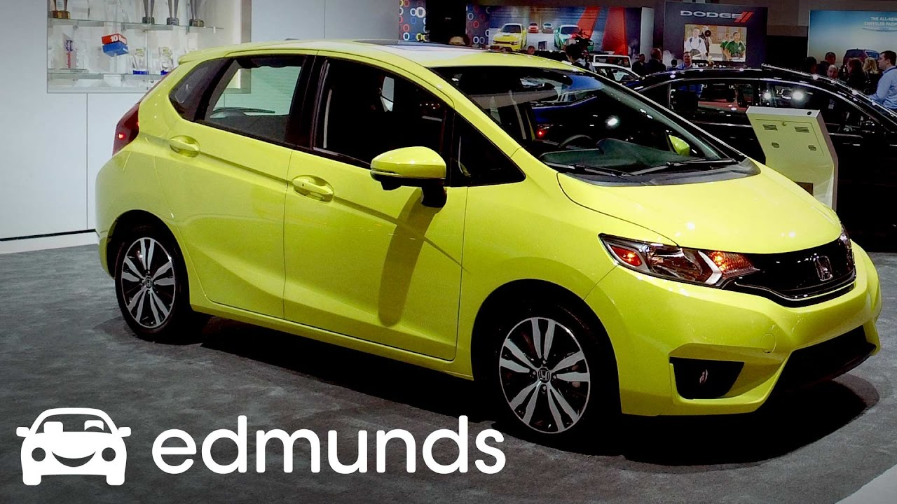 2017 honda fit review features rundown edmunds youtube. Black Bedroom Furniture Sets. Home Design Ideas