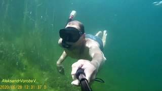 Подводный мир озера Силикатное