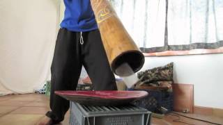 Sound Levitation ! Amazing Didgeridoo Physics