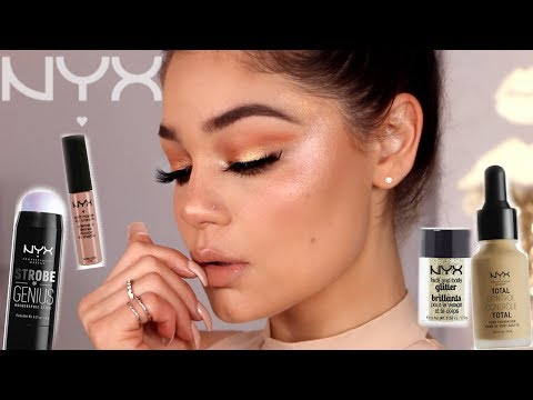 ONE BRAND MAKEUP TUTORIAL | NYX COSMETICS | Blissfulbrii