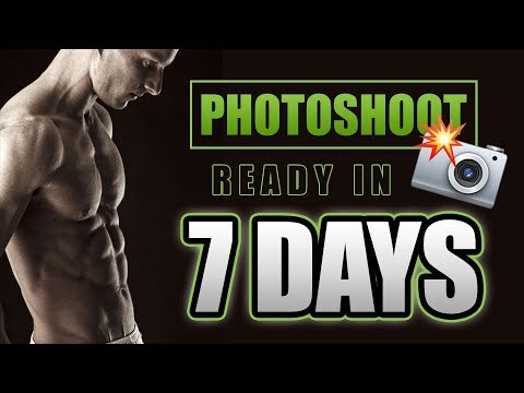 How To LEAN OUT And Get PHOTOSHOOT READY in 7 DAYS thumbnail
