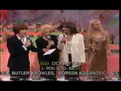 Banter from Dini Petty, Jeanne Cooper and Jess Walton on Sick Kids Telethon 1998