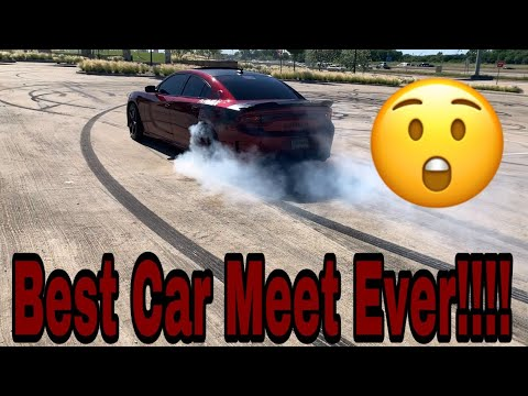 This Was A Epic Car Meet!!!! This 392 Daytona Charger Showed Out!!!! **Must See**