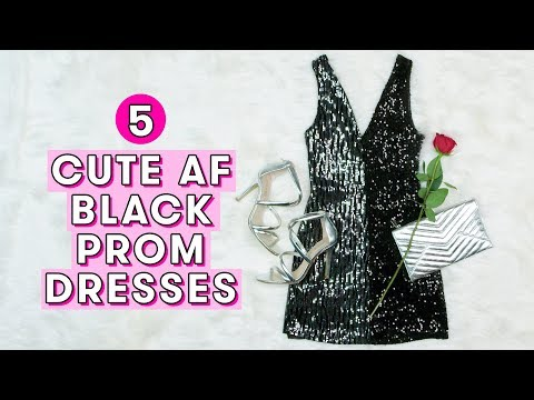 5-cutest-black-prom-dresses- -style-lab