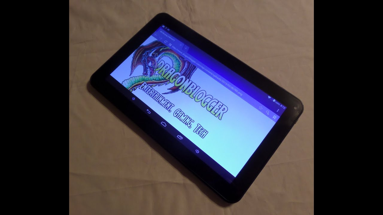 Using the TabletExpress 10 1in Dragon Touch A1X Quad Core Tablet