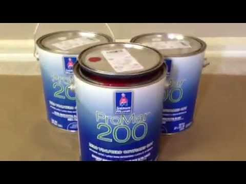 Sherwin Williams Custom Color Match Behr Paint
