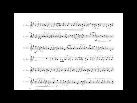 7 Years - Lukas Graham - Sheet Music Cover [Alto Sax]