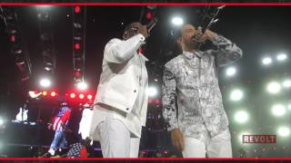 """French Montana and Puff Daddy take Essence Fest """"All The Way Up"""""""