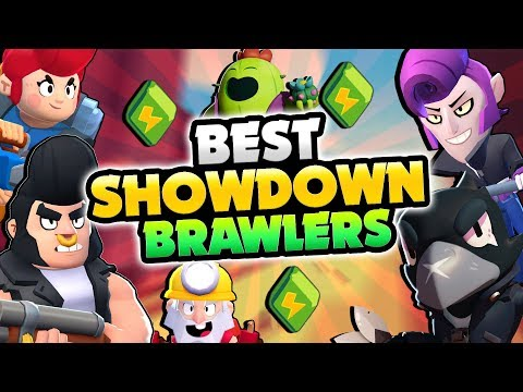 BEST & WORST SHOWDOWN BRAWLERS IN BRAWL STARS! BEST TIPS & STRATEGY