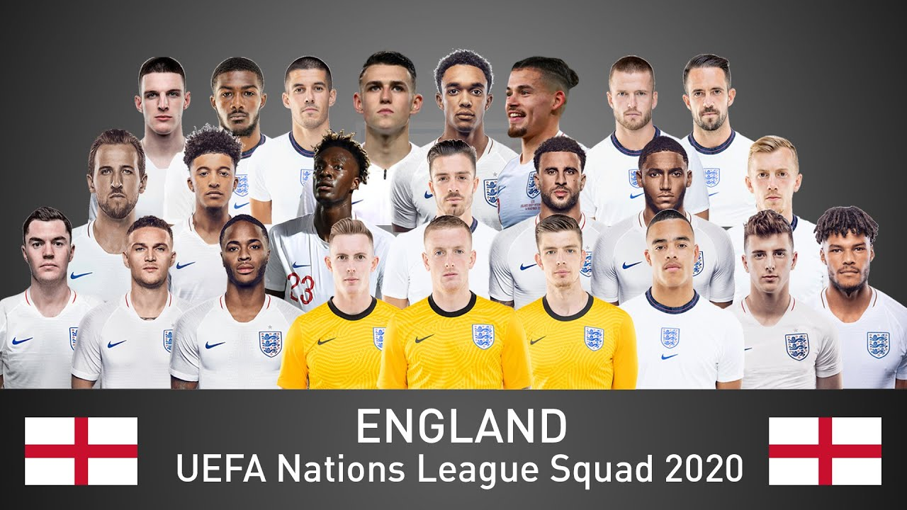 England Official Uefa Nations League Squad 2020 Ft Sancho Sterling Kane Greenwood Youtube