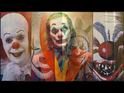 Joker and Killer Clowns - Joker 2019 Trailer Version (Halloween Vid Crossover 2019)