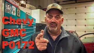 Chevy GMC Code P0172