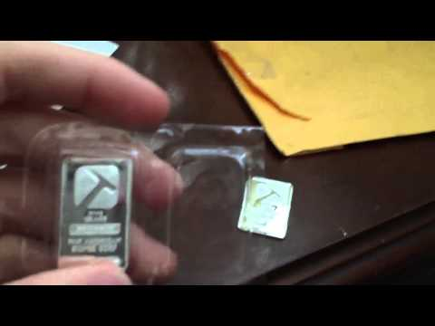 10 grams pure silver unboxing