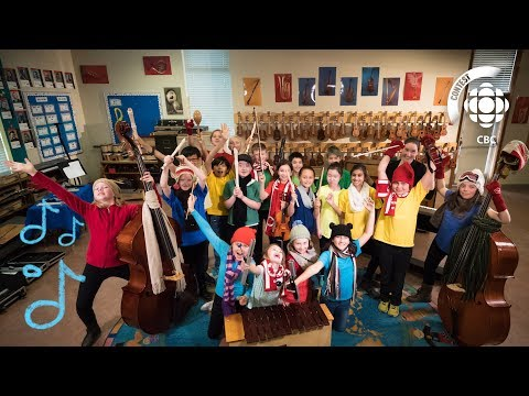 CBC Olympic Theme - Campus View Elementary School #CBCMusicClassChallenge