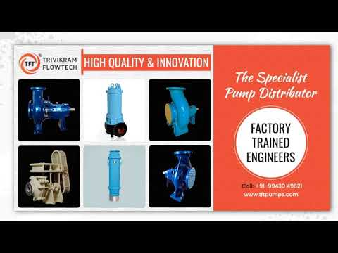 Dewatering Pumps | Slurry Pump Suppliers in India | TFTpumps.com