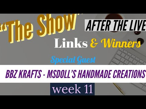 The Show After The LIVE With BBz Krafts & Msdoll's Homemade Creations