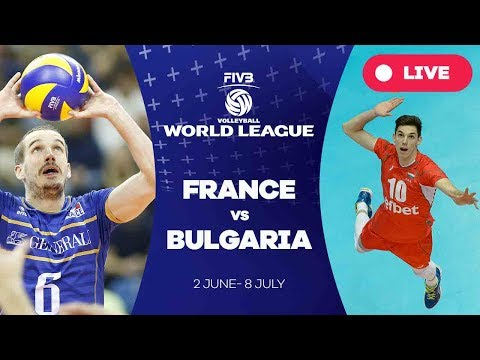 France v Bulgaria - Group 1: 2017 FIVB Volleyball World League