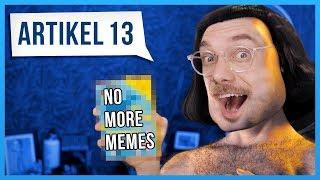 Werden Memes VERBOTEN?  - Artikel 13