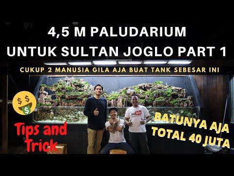 pembuatan-4,5-m-paludarium-untuk-sultan-joglo,-2-manusia-vs-1-ton-dragon-stones-part-1