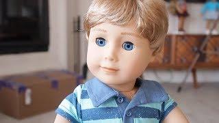 ANNEMDEN GİZLİ AMERICAN GIRL BEBEĞİNİ AÇTIM! American Boy Arthur Aileye Katıldı!! Bidünya Oyuncak