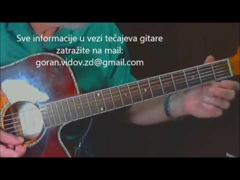 Dođi Parni Valjak -  Lekcija Solo Fingerstyle (cover)