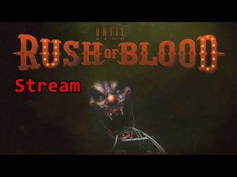Until Dawn Rush of Blood PS4 VR live mit Lisa & Ben