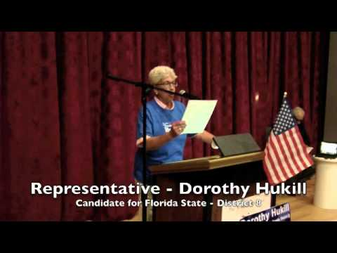 Dorothy Hukill: Candidate for Florida State, District 8