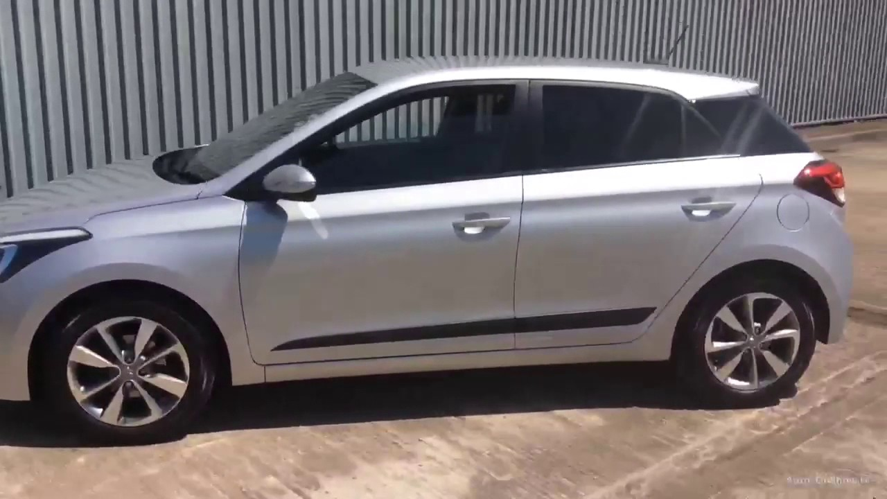 Hyundai I20 Gdi Premium Silver 2016 Youtube