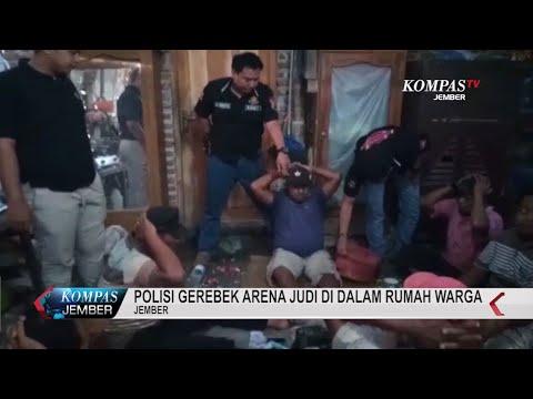 Polisi Gerebek Arena Judi di Dalam Rumah Warga