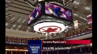NHL FaceOff 2001 (PSX) Flames vs Maple Leafs