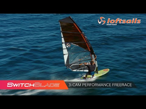 Loftsails 2021 Switchblade - 3-cam Performance Freerace