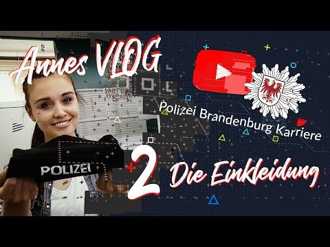 Annes VLOG - 2 Die Einkleidung // POLIZEIKARRIERE