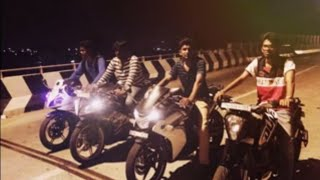 Bangalore Bike Accident 2015....drag race(Exclusive footage)
