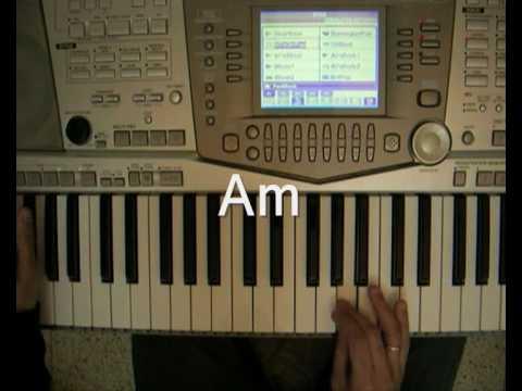 The Shadows - Apache - piano tutorial