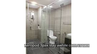 Aeropod 3pax stay awhile comfy space
