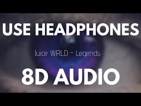 Juice Wrld - Legends (8D AUDIO)