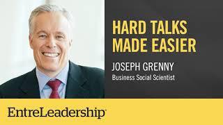 Hard Talks Made Easier | Joseph Grenny