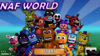 FNaF World: Codes for the new characters (Update 2)